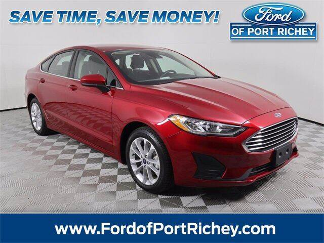 2020 Ford Fusion Hybrid for sale in Port Richey, FL