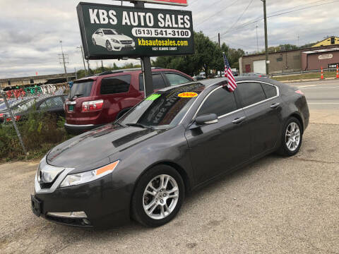 2009 Acura TL for sale at KBS Auto Sales in Cincinnati OH