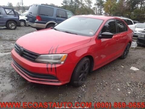 2015 Volkswagen Jetta for sale at East Coast Auto Source Inc. in Bedford VA