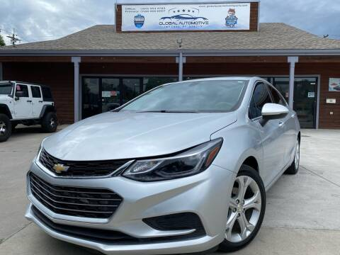 2017 Chevrolet Cruze for sale at Global Automotive Imports in Denver CO