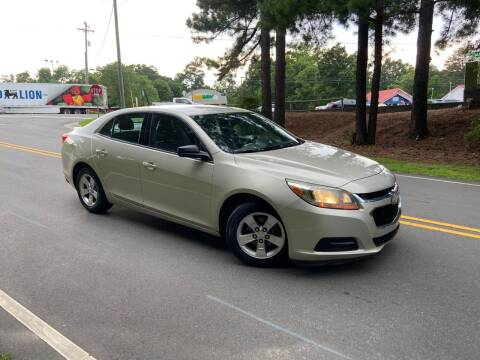 2015 Chevrolet Malibu for sale at THE AUTO FINDERS in Durham NC