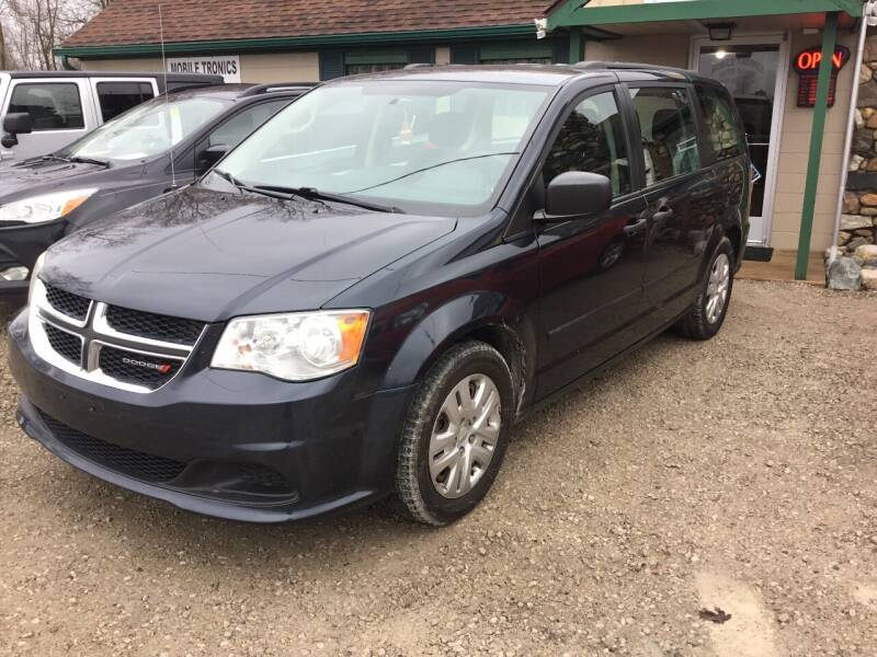 2014 Dodge Grand Caravan for sale at Mobile-tronics Auto Sales in Kenockee MI
