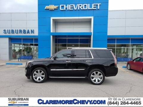 2015 Cadillac Escalade for sale at Suburban Chevrolet in Claremore OK