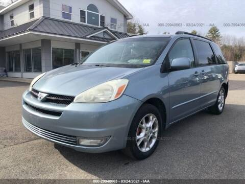2004 Toyota Sienna for sale at Discount Auto Sales in Passaic NJ