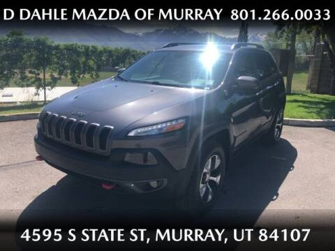2017 Jeep Cherokee for sale at D DAHLE MAZDA OF MURRAY in Salt Lake City UT