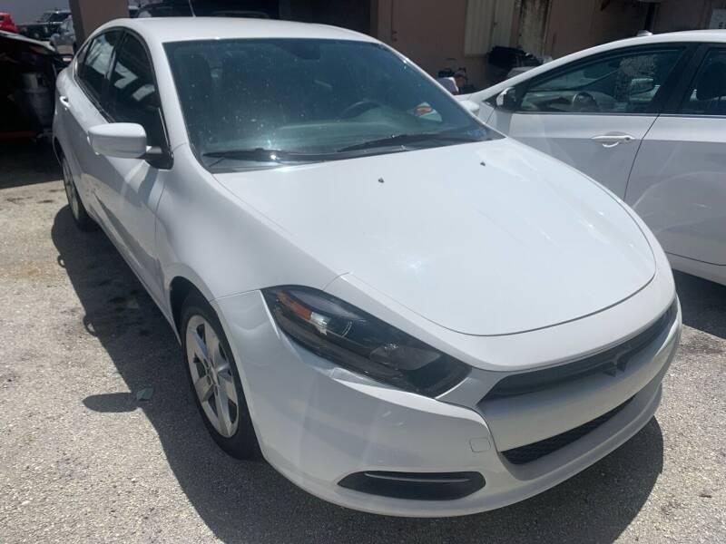 2016 Dodge Dart for sale at Eden Cars Inc in Hollywood FL