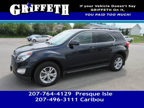 2016 Chevrolet Equinox for sale at Griffeth Mitsubishi - Pre-owned in Caribou ME