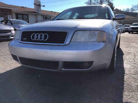 2004 Audi A6 for sale at All Starz Auto Center Inc in Redford MI