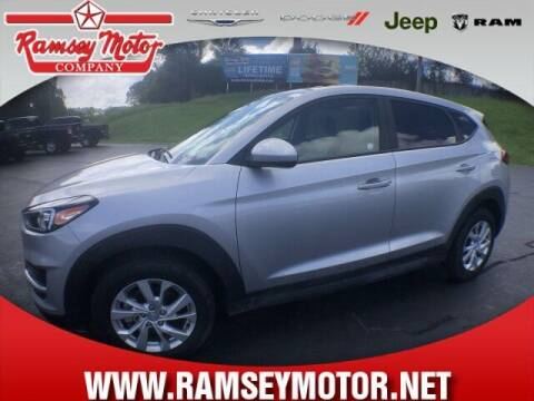 2020 Hyundai Tucson for sale at RAMSEY MOTOR CO in Harrison AR