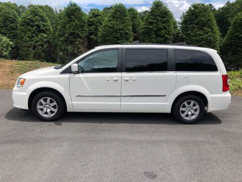 2012 Chrysler Town and Country for sale at DON'S AUTO SALES & SERVICE in Belchertown MA