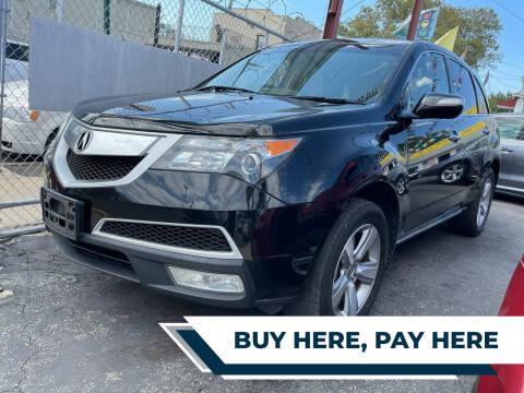 2012 Acura MDX for sale at Cypress Motors of Ridgewood in Ridgewood NY