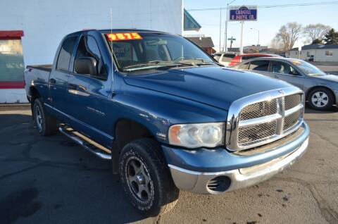 2003 Dodge Ram Pickup 1500 for sale at CARGILL U DRIVE USED CARS in Twin Falls ID