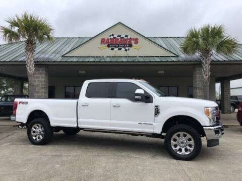 2017 Ford F-350 Super Duty for sale at Rabeaux's Auto Sales in Lafayette LA