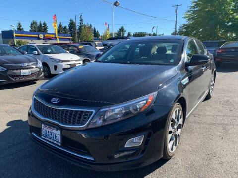 2014 Kia Optima Hybrid for sale at Real Deal Cars in Everett WA
