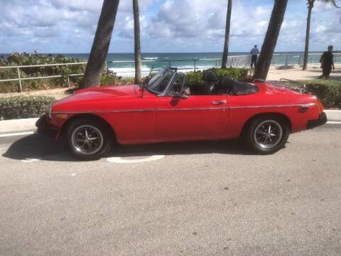 1975 MG MGB for sale at Classic Car Deals in Cadillac MI