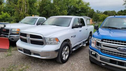 2017 RAM Ram Pickup 1500 for sale at Clare Auto Sales, Inc. in Clare MI