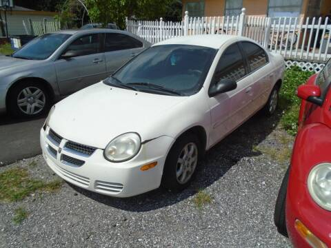 2005 Dodge Neon for sale at Bargain Auto Mart Inc. in Kenneth City FL