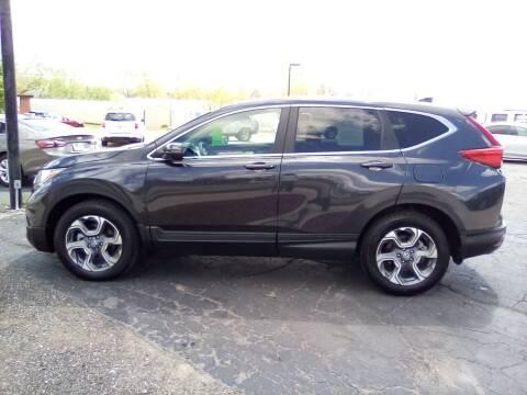 2017 Honda CR-V for sale at Four Guys Auto in Cedar Rapids IA