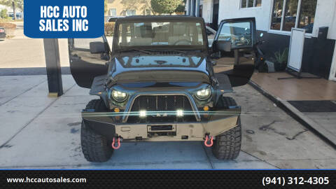 2008 Jeep Wrangler for sale at HCC AUTO SALES INC in Sarasota FL