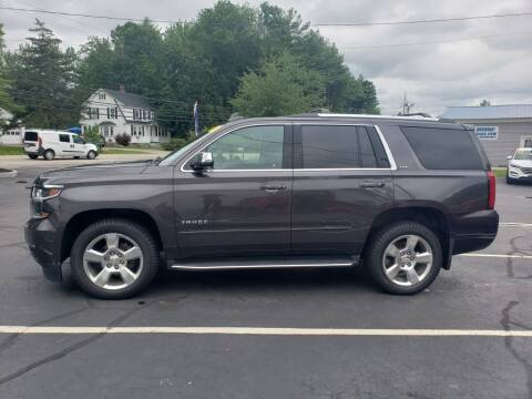 2016 Chevrolet Tahoe for sale at Healey Auto in Rochester NH