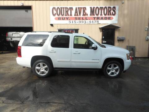 2008 Chevrolet Tahoe for sale at Court Avenue Motors in Adel IA