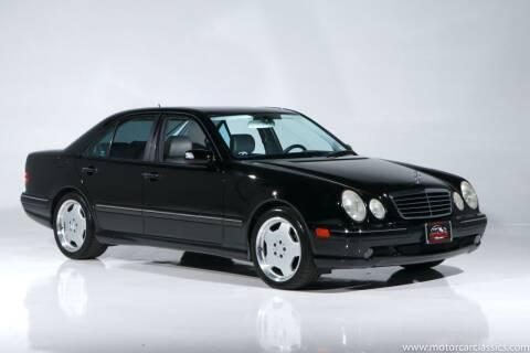 2001 Mercedes-Benz E-Class for sale at Motorcar Classics in Farmingdale NY
