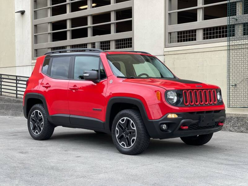 2017 Jeep Renegade for sale at LANCASTER AUTO GROUP in Portland OR