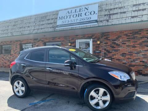 2016 Buick Encore for sale at Allen Motor Company in Eldon MO
