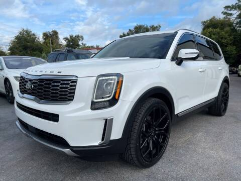 2020 Kia Telluride for sale at Upfront Automotive Group in Debary FL