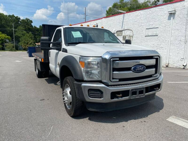 2014 Ford F-550 Super Duty for sale at Consumer Auto Credit in Tampa FL