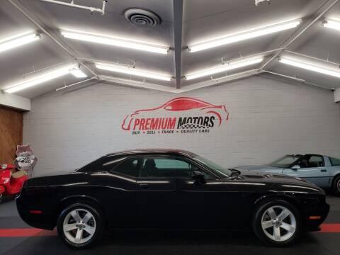 2013 Dodge Challenger for sale at Premium Motors in Villa Park IL