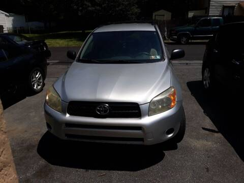 2008 Toyota RAV4 for sale at GALANTE AUTO SALES LLC in Aston PA