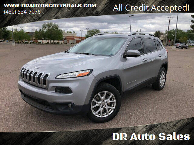 2016 Jeep Cherokee for sale at DR Auto Sales in Scottsdale AZ