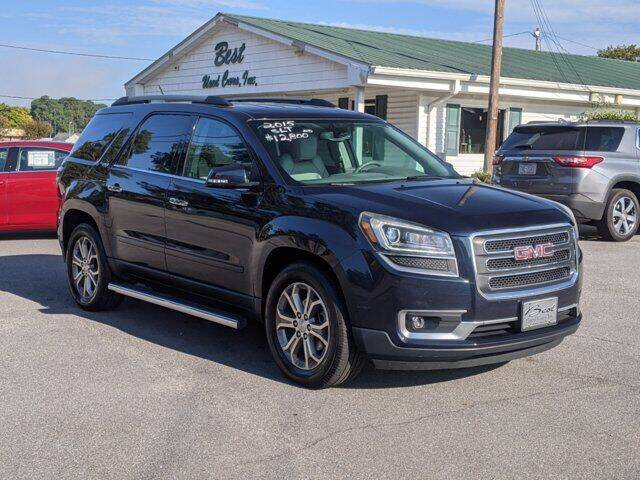2015 GMC Acadia for sale at Best Used Cars Inc in Mount Olive NC