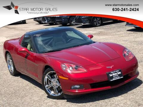 2008 Chevrolet Corvette for sale at Star Motor Sales in Downers Grove IL