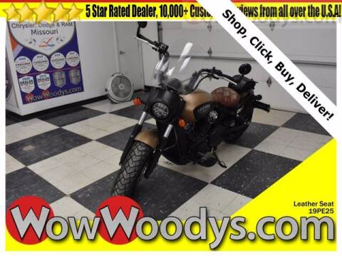 2019 Indian Scout Bobber for sale at WOODY'S AUTOMOTIVE GROUP in Chillicothe MO