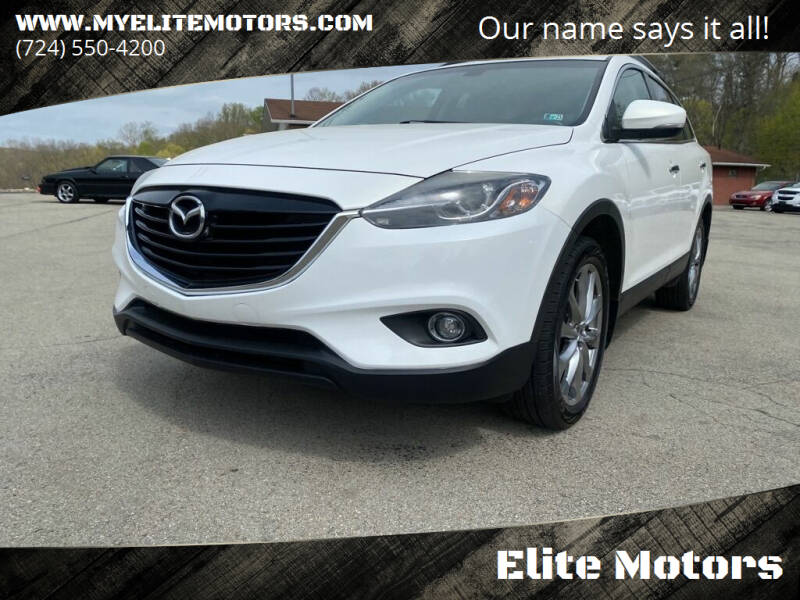 2014 Mazda CX-9 for sale at Elite Motors in Uniontown PA