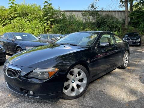2007 BMW 6 Series for sale at Car Online in Roswell GA