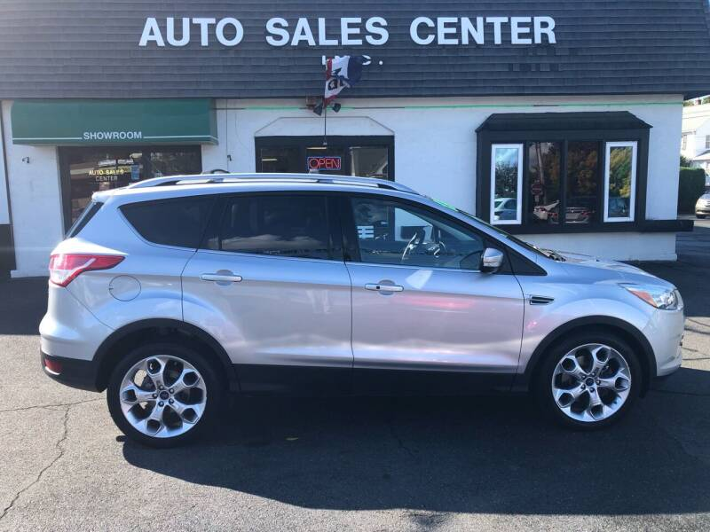 2015 Ford Escape for sale at Auto Sales Center Inc in Holyoke MA
