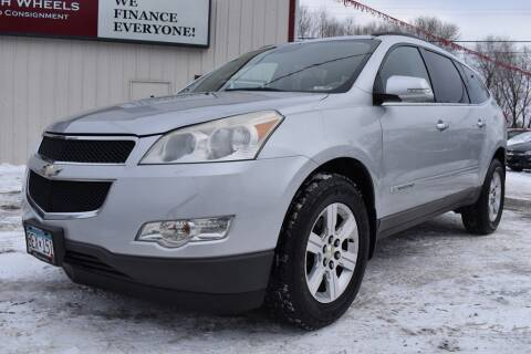 2009 Chevrolet Traverse for sale at DealswithWheels in Hastings MN