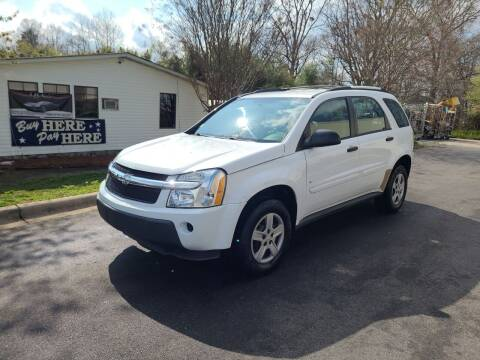 2006 Chevrolet Equinox for sale at TR MOTORS in Gastonia NC