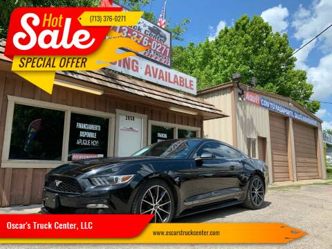 2015 Ford Mustang for sale at Oscar's Truck Center, LLC in Houston TX