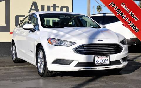 2017 Ford Fusion Hybrid for sale at H1 Auto Group in Sacramento CA