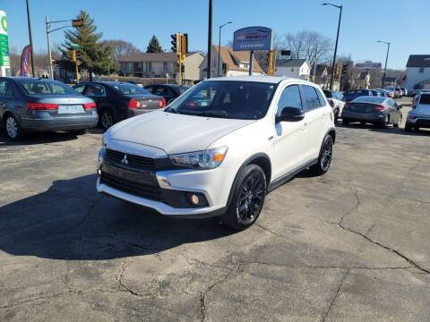 2017 Mitsubishi Outlander Sport for sale at MOE MOTORS LLC in South Milwaukee WI
