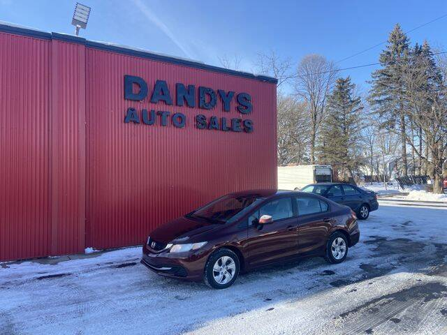 2013 Honda Civic for sale at Dandy's Auto Sales in Forest Lake MN