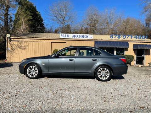 2010 BMW 5 Series for sale at Mad Motors LLC in Gainesville GA