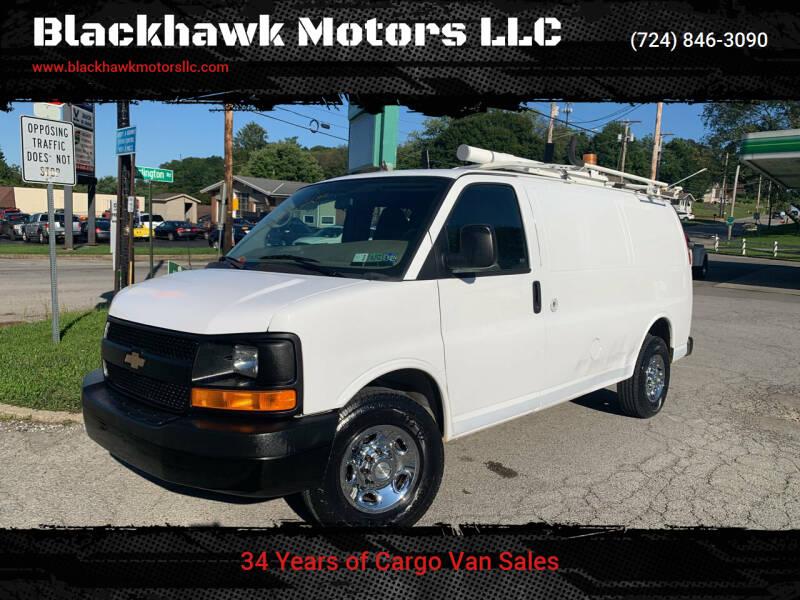 2011 Chevrolet Express Cargo for sale at Blackhawk Motors LLC in Beaver Falls PA