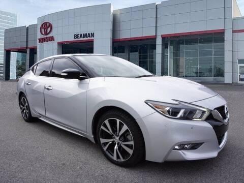 2017 Nissan Maxima for sale at BEAMAN TOYOTA in Nashville TN