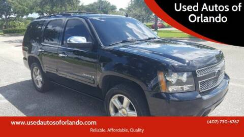 2007 Chevrolet Tahoe for sale at Used Autos of Orlando in Orlando FL