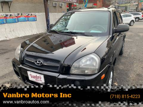 2005 Hyundai Tucson for sale at Vanbro Motors Inc in Staten Island NY